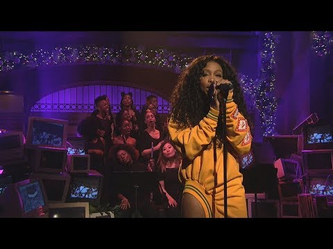 SZA Love Galore Mic Feed Isolated Vocals Only at Saturday Night Live SNL