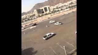 تفحيط خريجي الجامعه الاسلامية المدينة المنورة1436