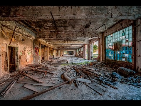 Packard Motor Plant Urban Exploration in Abandoned Detroit with the Sony A7Rii by Jason Lanier
