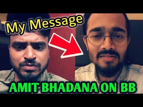 Xxx Mp4 Amit Bhadana Talks About BB Ki Vines LIVE Message For Bhuvan Bam By Amit Bhadana 10M Race 3gp Sex