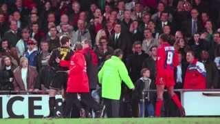 Eyewitness: 'Cantona's boot brushed my coat'