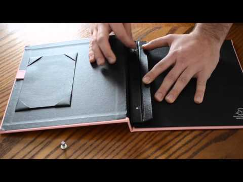 Replacing Sheets in your Casemade Magazine and Tract Holder