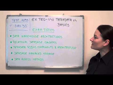 TE0-141 – Teradata Exam 14 Test Basics Questions