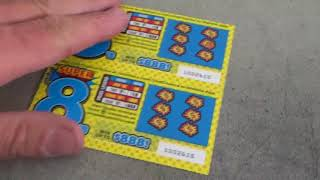 226 Lottery Scratch Off Tickets From Nevada Arcade Channel & Yoshi