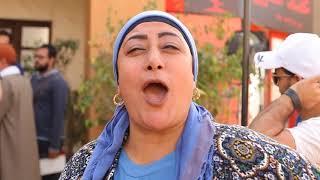 إوعى يفوتك كواليس تصوير مسلسل يوميات زوجة مفروسة مع الجميلة رجاء الجداوي  - Youmyat Zoga Mafrosa