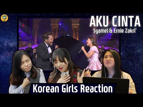 Korean Girls React to 'Aku Cinta' |Syamel & Ernie Zakri|Blimey