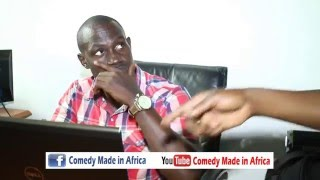 funny Christmass moment at work 2015 - Comedy made in Africa