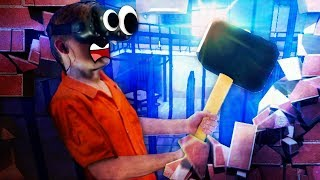 ESCAPING PRISON IN VR!! WE