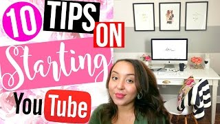 HOW TO START A SUCCESSFUL YOUTUBE CHANNEL! | HONEST ADVICE + TIPS | Page Danielle