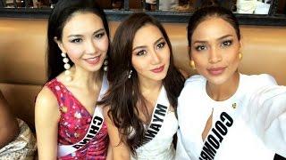 Miss Colombia 2016 - ANDREA TOVAR  - Entrevista en Inglés