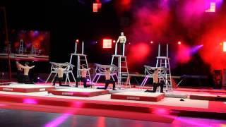Troupe Backlight part2 - Gym Gala Brussels 2014