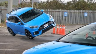 Auditioning To Be A Hollywood Stunt Driver [Ford Focus RS]