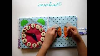 Quiet book for Sofia no.2 from Neverland- creative toys