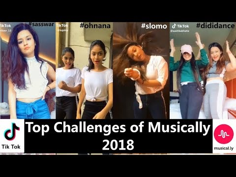 Top 10 Challenges Of Musically 2018 Avneet Manjull Awez Ashika Mrunal