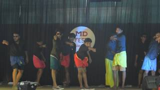 Best funny college dance performance ever!!! MD FEST 2k17 - Mar dionysius college pazhanji bcom ca