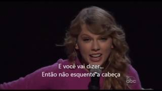 Taylor swift- Ours (Live performance) Legendado