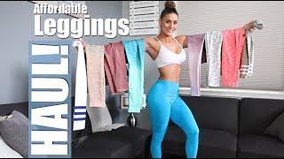 AFFORDABLE GYM Leggings Try-On Season 2 Vlog 45