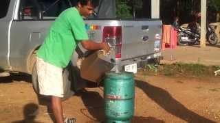 วิธีการเติมแก๊ส LPG แบบฉุกเฉิน