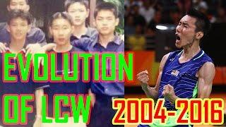 12 Years Evolution Of Lee Chong Wei 李宗伟12年精彩的羽球生涯   2004-2016