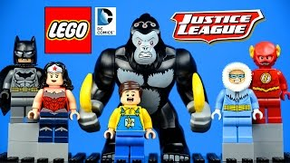 LEGO 76026 Justice League Gorilla Grodd goes Bananas DC Superheroes with Batman Wonder Woman Flash
