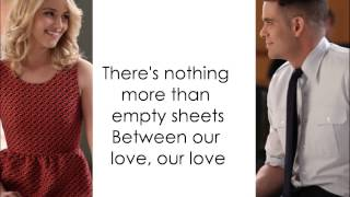 Just Give Me A Reason - Glee Cast (Lyrics)