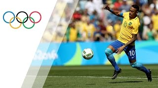 Neymar scores fastest goal in Olympic history | Rio 2016 Olympic Games