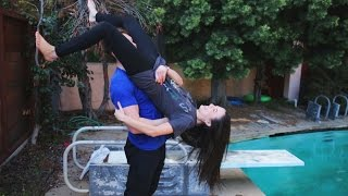 Behind The Scenes & FAILS! (WWE Moves On Girls)