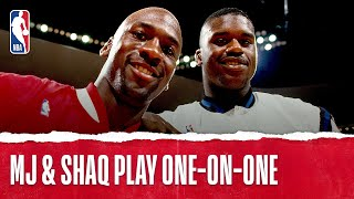 Michael Jordan Plays One-on-One with Shaq