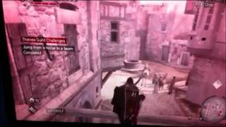 Jump from a horse to a beam - Assassin's Creed Brotherhood Thief Guild Challenge - nursy96
