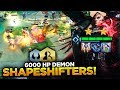 UNKILLABLE 6000 HP DEMON SHAPESHIFTERS!  Teamfight Tactics