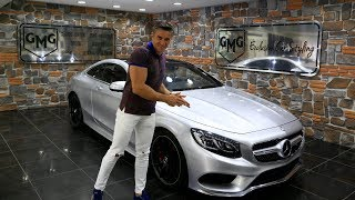 Mercedes s500 Coupe Metallic Silver Vs. c200 Mouse Gray Wrap