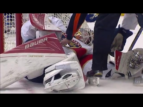 Reimer forced to leave after collision with Boyle
