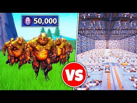 50000 ZOMBIES vs TRAPS Breaking Creative