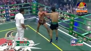 Proeung Socheat vs Namphet (Thai) Bayon Kun Khmer Boxing 11/11/2018