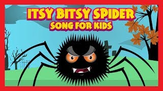 ITSY BITSY SPIDER SONG FOR KIDS - ONE HOUR NURSERY RHYMES FOR KIDS || Animated Rhymes In English