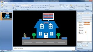 Powerpoint training |how to create text and shape (shapes blink)animations (6)