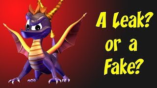 Possible Spyro Leak? Voice Actors and Release Date? Unlikely, but interesting