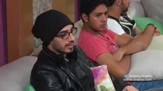 تقييم هادي شرارة لليث ابو جودة في البرايم 8 من ستار أكاديمي 10 - Hady Sharara Laith Abu Joda