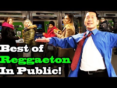 BEST OF REGGAETON - SINGING IN PUBLIC!! (Ozuna, Daddy Yankee, Shakira, Romeo Santos, more)