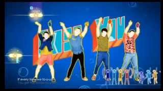 Just Dance 2014 Wii - One Direction - Kiss You