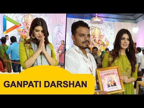 Xxx Mp4 Ihana Dhillion Visits Andheri Ka Raja For Darshan 3gp Sex