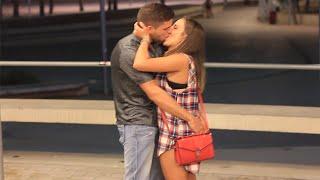 KISSING PRANK - MAGALUF STRIP NIGHT EDITION (GONE WILD)