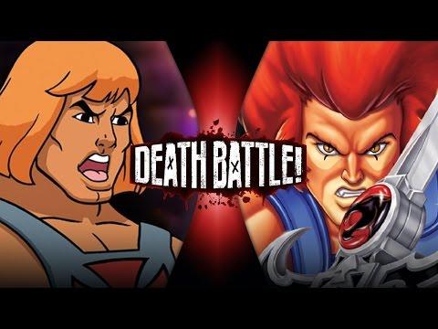 He-Man VS Lion-O   DEATH BATTLE!   ScrewAttack!