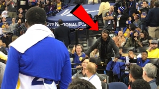DRAYMOND GREEN GOT IN A FIGHT WITH A FAN