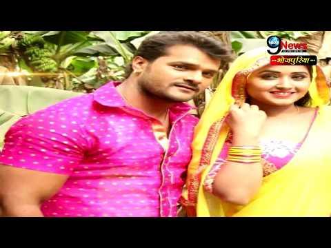 Xxx Mp4 शूटिंग के दौरान काजल और खेसारी ने तोड़ी शर्म की हदें… Khesari Kajal Hot Romance On The Screen 3gp Sex