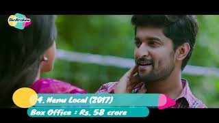 Top 10 Best Movies Of Nani   Highest Grossing Movie List   All Movie List  