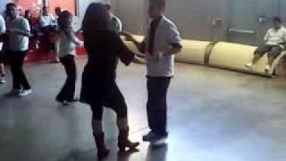 Me and my Teacher (Lisa King) Dancing Tango, Cha Cha Cha, Merengue, and Bachata at (Woodrow Wilson)