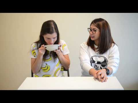 Russian girl tries Filipino food for the first time Food Challenge Taste Test Food Trying