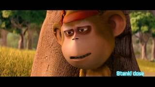 Delhi Safari Bandru Funny Moment Monkey Language Govinda Hindi 
