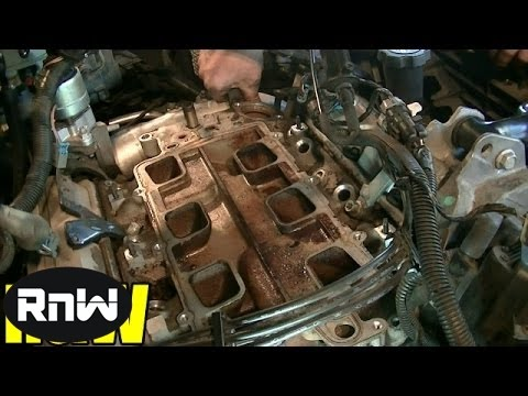 Chevy 3.8L Upper Lower Intake Manifold Gasket and Tensioner Replacement Part 2